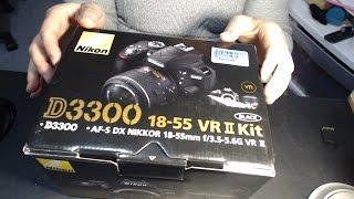 ASMR Unboxing a New Camera - Nikon D3300 - Future Videos in HD