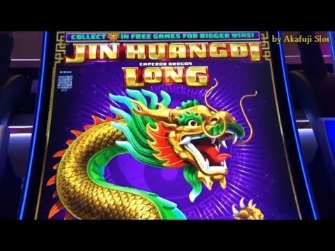 New !! Jin Huangdi Emperor Dragon Long -Big Win& Raadiant witch slot @ San Menul Casino, 赤富士スロット 勝負師