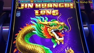 New !! Jin Huangdi Emperor Dragon Long -Big Win& Radiant witch slot @ San Manuel Casino, 赤富士スロット 勝負師