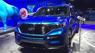 2020 Ford Explorer at Detroit auto show thumbnail