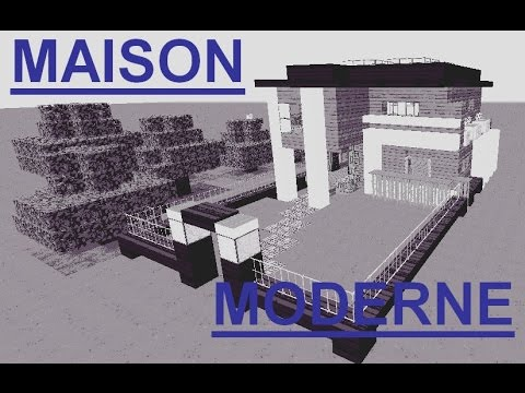 Minecraft Maison Moderne Et Avec Idees Youtube