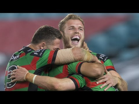 NRL Highlights: South Sydney Rabbitohs v Melbourne Storm - Round 21