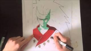 Speed drawing Madara Rikudou ( Naruto Shipuden )