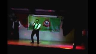 dance performed by sudheer prathvi shreetik and shaanavi for tulu community