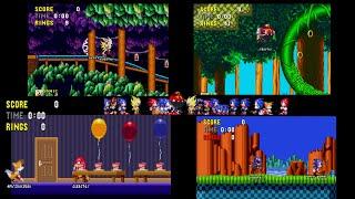 Sonic:Classic Sonic Simulator V9 (online multiplayer sonic?)