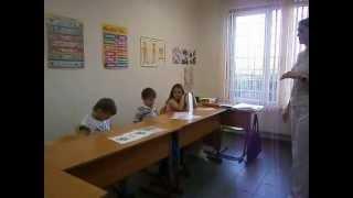 Фрагмент урока в First Decision - май 2013 г., 6-7 лет, Comp_Beginner / Kid's Box 1