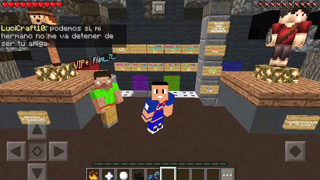 Server De Los Juegos Del Hambre Para Minecraft Pe 2018 Youtube