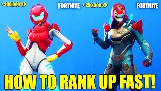 HOW TO RANK UP FAST IN FORTNITE SEASON 9 HOW TO LEVEL UP FAST SEASON 9 UNLOCK MAX ROX/VENDETTA!