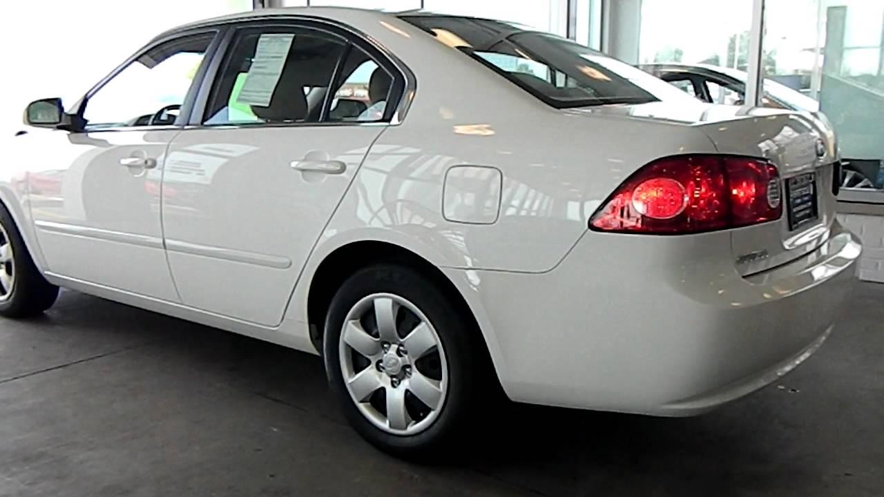 Clear White 2007 Kia Optima @ Eastside Mazda Volkswagen In Cleveland, Ohio    YouTube