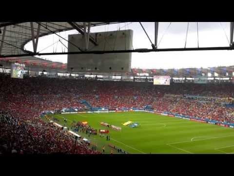 Chilean National Anthem at Maracanã Stadium