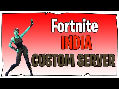 Fortnite INDIA Live | Custom Games | Creator Code ...