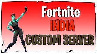 Fortnite INDIA Live | Custom Games | Creator Code - exellar