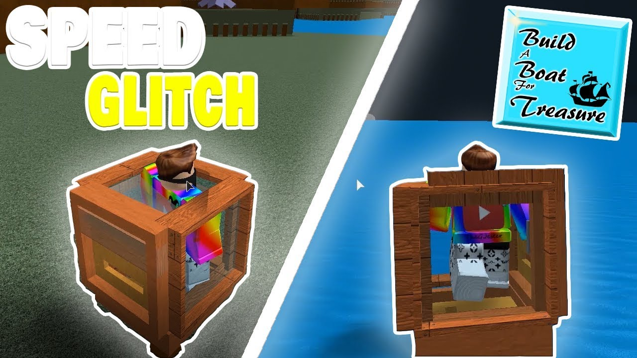 NEW SPEED GLITCH! (Build A Boat For Treasure) ROBLOX
