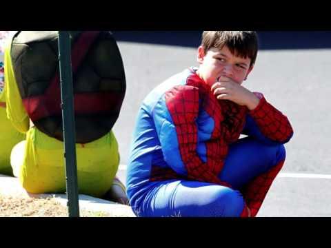 Remember Jacob Hall: Superhero funeral for young boy