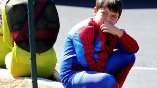 Remember Jacob Hall: Superhero funeral for young boy
