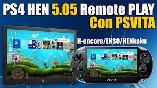 PS4 HEN Remote Play PSVITA H-encore ENSO HENkaku y 3.68 Oficial