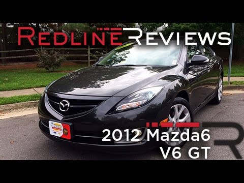 2012 Mazda6 V6 GT Review, Walkaround, Exhaust, & Test Drive