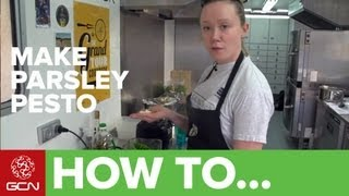 How To Make Parsley Pesto - Gcn's Food For Cycling