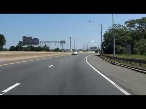 Southwest Freeway (Interstate 395 Exits 1 to 6) northbound (HOV Lanes)