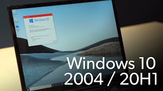 Top 5 features of Windows 10 2004 / 20H1