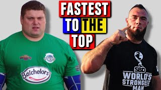 Debut to CHAMPION | The Fastest (and Slowest) Winners of World's Strongest Man