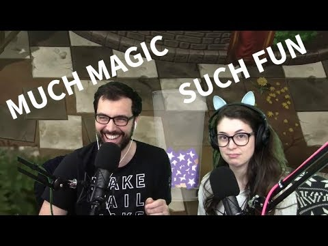 I try to convince my wife that Magicka 2 is awesome!!