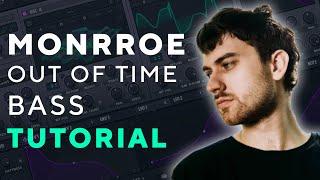 How to make BAŠSES Like MONRROE - Out of Time | Serum Tutorial