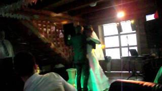 Первый танец на свадьбе. Елена и Алексей (29.07.11)