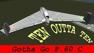 ksp gotha go p 60 c concept plane b9 aerospace