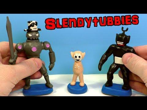 Ліпимо СЛЕНДІПУЗІКОВ: новий Робот, тіньовий і новонароджений з гри Slendytubbies 3