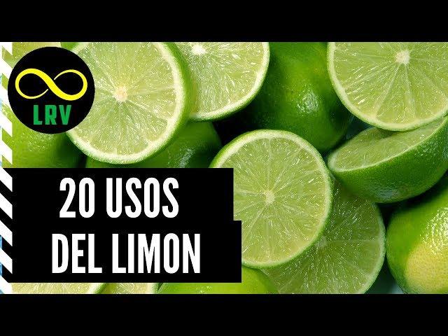 20 USOS INCREÍBLES DEL LIMÓN