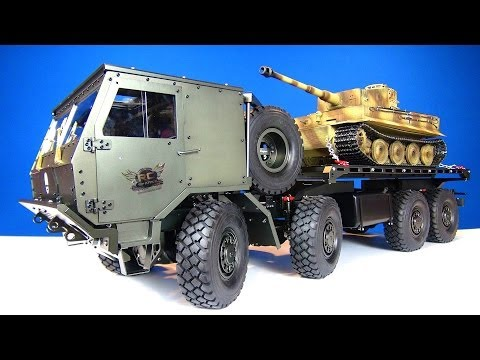 RC ADVENTURES - Panzerkampfwagen Tank & Capo 8x8 TATRA Military MACHiNE!
