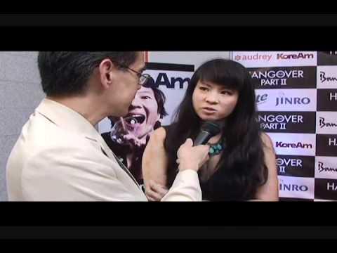 Karin Anna Cheung at the Hangover II party