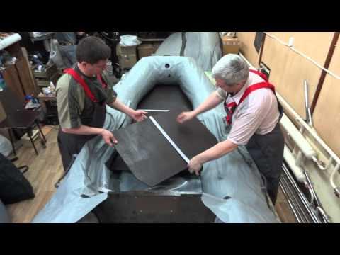 сбор лодки пвх видео