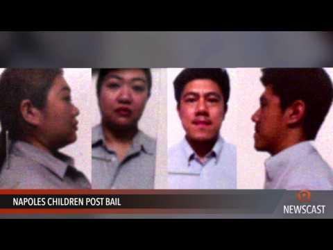 Napoles children post bail