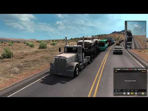 Out of Fuel on the middle of the highway | American Truck Simulator |
