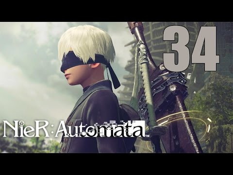 NieR: Automata - Let's Play Part 34: Robots Never Grow Up