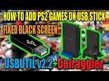 [PS2] GAMES ON USB STICK | FIXED BLACK SCREEN [2016]