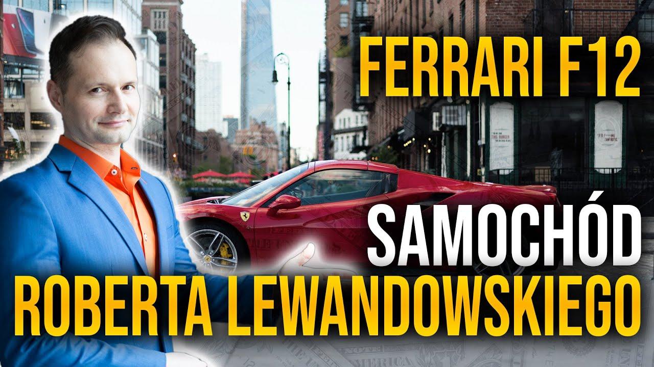 Taki samochód ma Robert Lewandowski