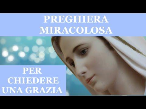 PREGHIERA MIRACOLOSA PER CHIEDERE UNA GRAZIA URGENTE E IMPOSSIBILE