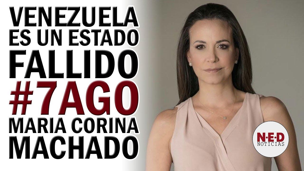 IMPORTANTE ENTREVISTA MARIA CORINA MACHADO A MEDIOS INTERNACIONALES #7AGO