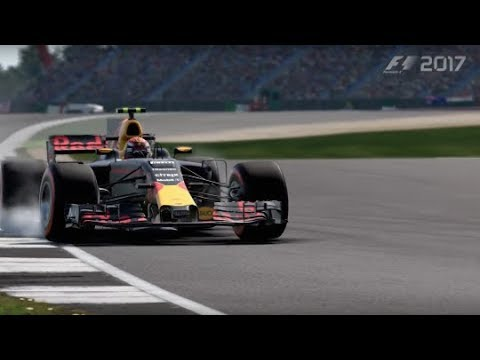 F1 2017 PS4 Gameplay Using PS3 Logitech Driving Force GT Steering Wheel - YouTube