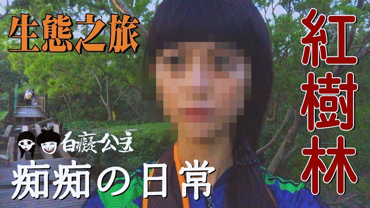 癡癡の日常//淡水紅樹林生態之旅 無趣的遊記#4 - YouTube