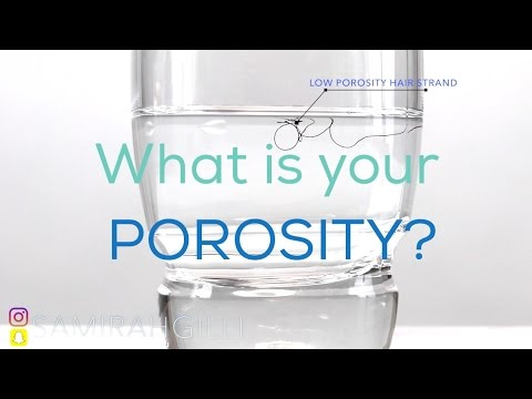 How To Find Out Your Hair Porosity - Strand Test On High & Low Porosity Natural Hair | Samirah Gilli