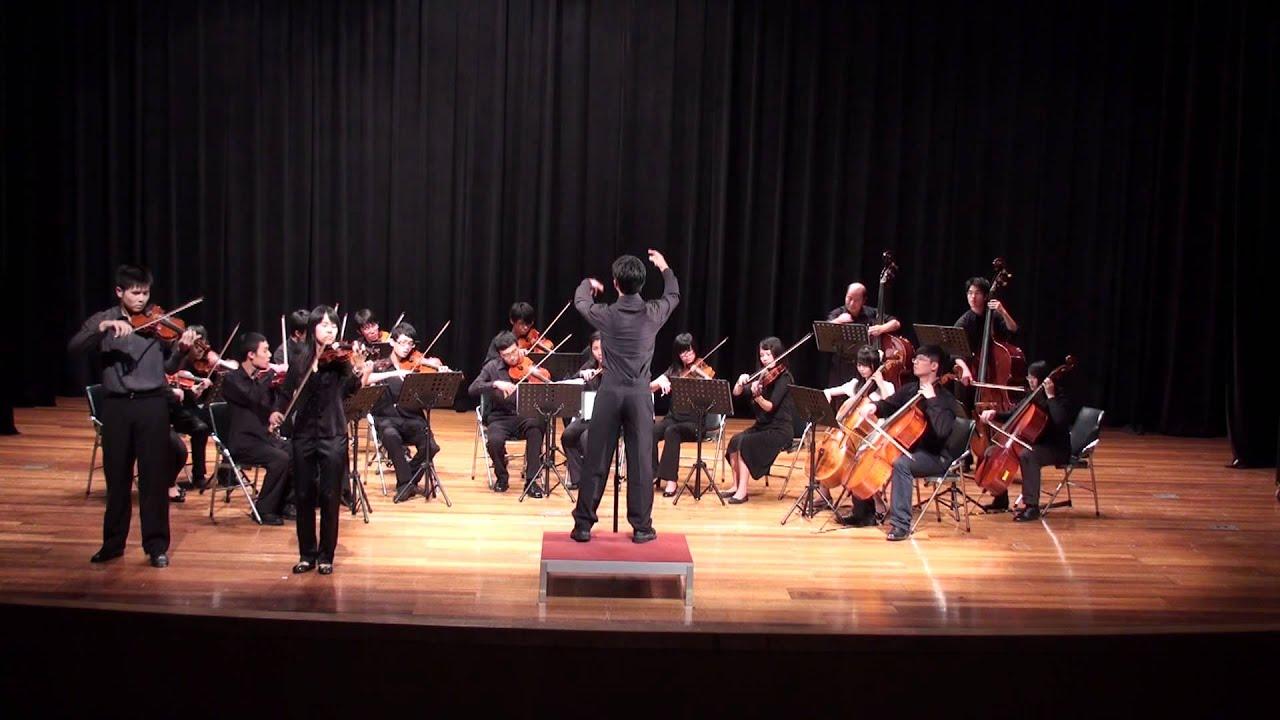 繽紛狂響曲-巴哈雙小提琴協奏曲D小調 - YouTube