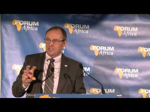 Denis Richard, Président la Coop Fédérée au FORUM AFRICA 2013
