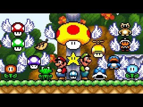 Super Mario Bros X (SMBX 1 4 4) - PowerUps GFX (SMW: Modern