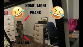 Home Alone/Amber Alert Prank on 4 and 7 year olds (They Cried)