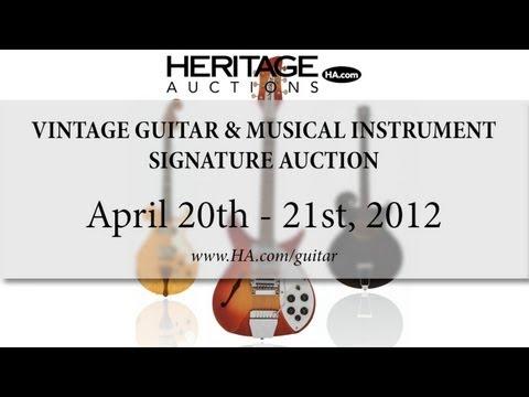 Heritage Auctions (HA.com) -- April Signature Vintage Guitars and Musical Instruments Auction #7062
