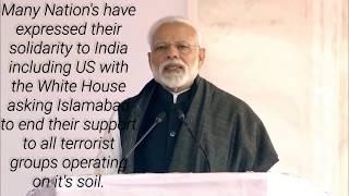 PM Modi's Speech on Pulwama Attack